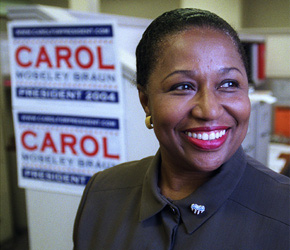 Carol Moseley Braun's Unlikely Second Act