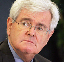 George Will Says Newt Gingrich is 'Not a Serious Candidate'