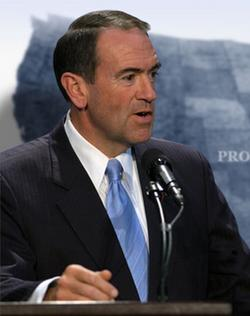 Huckabee's Heart Says 'No'