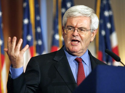 Gingrich Makes Pitch for Santorum Supporters
