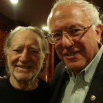 Vermont's Bernie Sanders Honors Willie Nelson