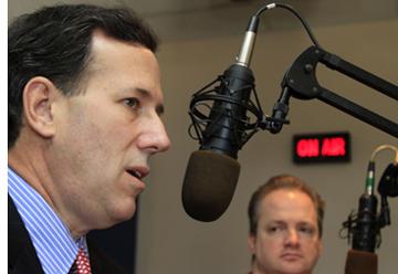 Cutting The Cord: Santorum to Lose Radio Gig