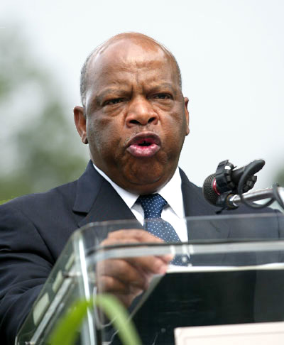 Civil Rights Icon John Lewis to Face Primary Challenger in 2012