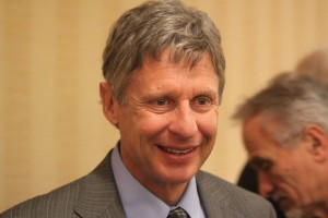 Excluded From N.H. Debate, Gary Johnson Campaigns in Iowa