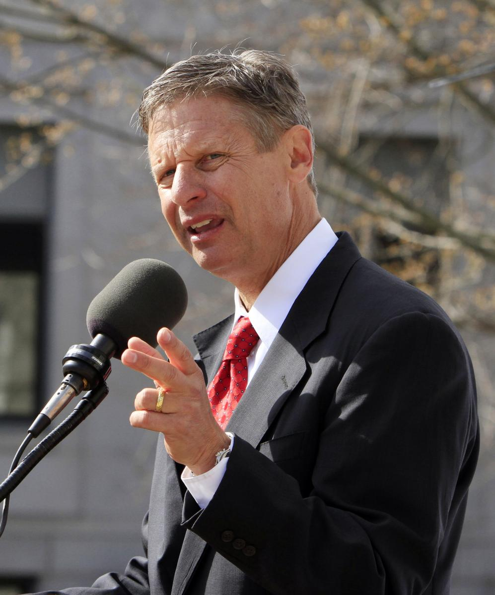 GARY JOHNSON: 'The two-party is over'