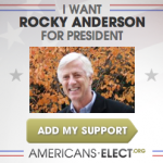 Rocky's Difficult Road to the Americans Elect Nomination