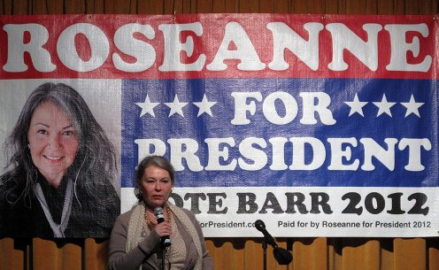 Peace and Freedom Party Nominates Roseanne Barr for President