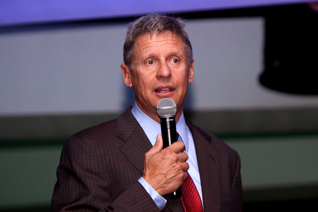 Gary Johnson: I'd Like to Run for President Again