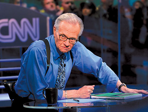 Larry King Tapped to Moderate Free and Equal Presidential Debate