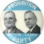 Time Capsule: Prohibition Candidate for President Barred from Voting in '48