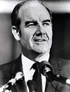 McGovern snapped Humphrey's winning streak, slowing his momentum, with a victory in the May 9th Nebraska primary.