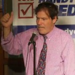 Credico's Democratic Primary Showing Boosts Fledgling Tax Wall Street Party