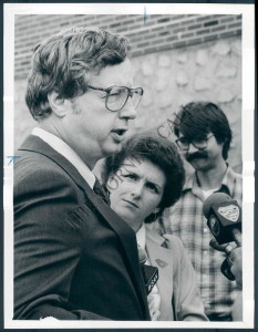 Trailing by 32 points at the outset, the little-known Ertel stormed from behind and almost unseated Pennsylvania Gov. Dick Thornburgh in 1982.
