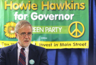 Green Party's Howie Hawkins Polling at 24% in Syracuse